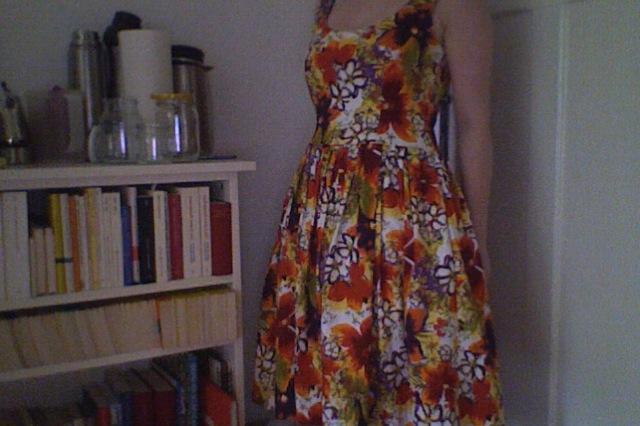 Mein erstes selbstgenähtes Kleid