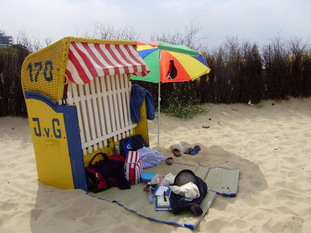 Cuxhaven – Strandkorb
