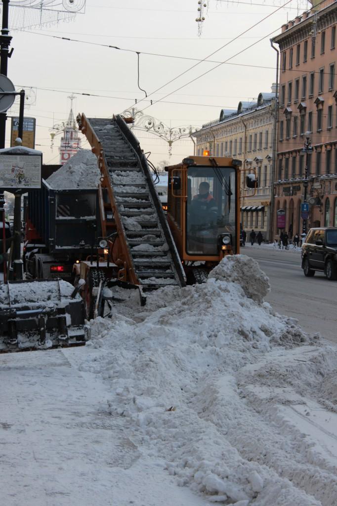 Schneeschaufler