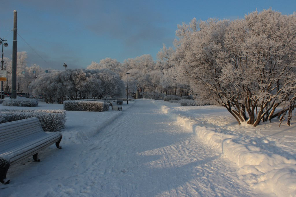 Winter in Russland